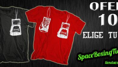 Photo of Camiseta Guantes Colgando SpaceBoxing ®
