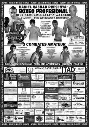 Boxeo profesional en Beranga - Cantabria, 14 de septiembre Boxeo-Beranga