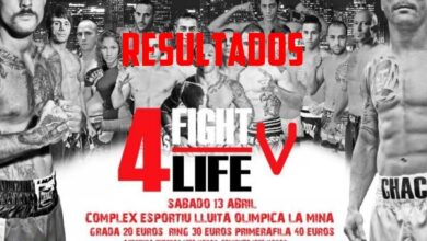 Photo of Resultados Fight 4 Life 5