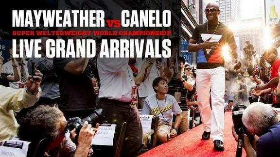 Photo of Mayweather vs Canelo: Video llegada a Las Vegas MGM