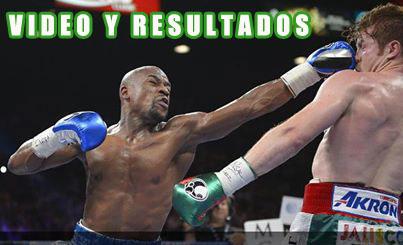 Photo of Mayweather vs Canelo – Resultados, fotos y video.