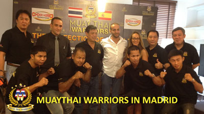 Photo of Muay Thai Warrios Madrid 23/11/13