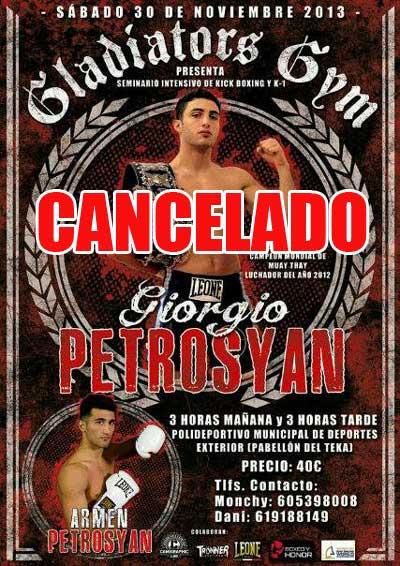 Photo of CANCELADO Seminario Giorgio & Armen  Petrosyan en Santander 30/11/13