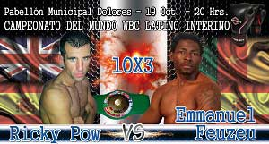 Photo of Velada de Boxeo en Alicante Ricky Pow vs Enmanuel Feuzeu.