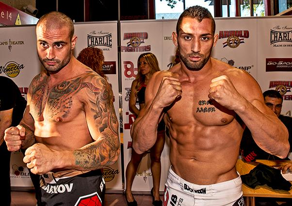 Photo of Arnold Fighters Fotos Pesaje