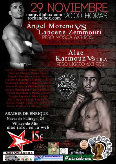 Boxeo en hotel asador de enrique madrid 29 11 13 spaceboxing for Gimnasio yuncos