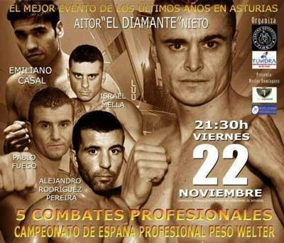 "Photo of Boxeo en Gijon ""VI Memorial Jesús Piquero"""