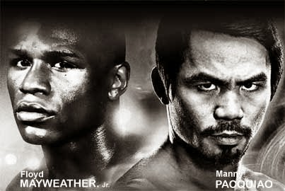 Photo of Mayweather vs Pacquiao YA !