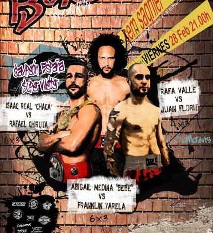 Photo of Velada Boxeo en el Prat de Llobregat 28/02/14