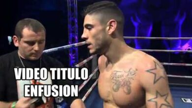 Photo of Video David Calvo «Currito» vs Robbie Hageman Titulo Enfusion -70kg