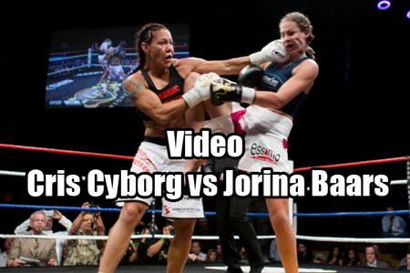 Photo of Video Cris Cyborg pierde ante Jorina Baars