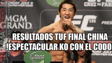 Photo of Resultados  TUF China Finale el surcoreano Donh Hyun Kim hizo un KO tremendo