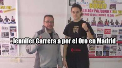 Photo of Jeniffer Carrera a por el oro en Madrid