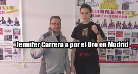 Photo of Jeniffer Carrera a por el oro en Madrid