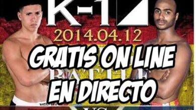 Photo of K-1 Battle of Spain gratis on-line 12/04/14