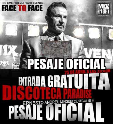 Photo of Pesaje hoy Viernes en Discoteca Paradise (entrada gratuita)