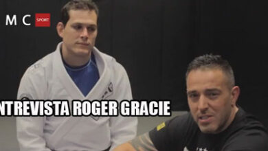 Photo of Roger Gracie entrevistado por MC Sport Fighter