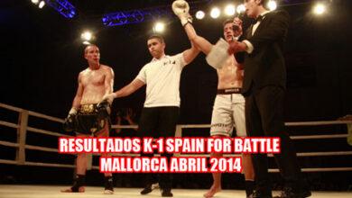 Photo of Resultados K-1 Battle of Spain Mallorca 12/04/14