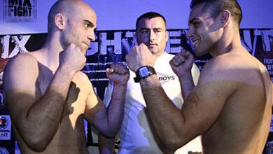 Photo of Miguel Valverde vs David Martin MMA Pesaje