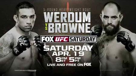 Photo of Previa UFC en FOX 11: Werdum vs Browne