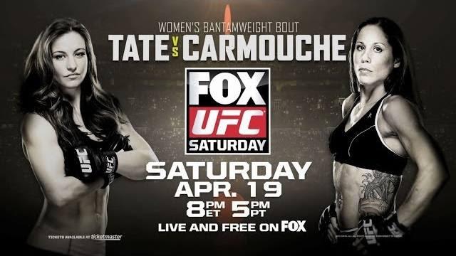 Photo of UFC en FOX 11: Tate vs Carmouche previa
