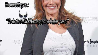 Photo of Ivonne Reyes hace kickboxing para bajar de peso