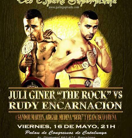 """Photo of Vela Boxeo  """" La Reconquista"""" Juli Giner vs Rudy Encarnación"""
