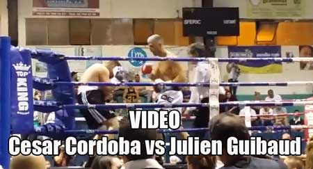 Photo of Video César Córdoba vs Julien Guibaud Fight to Fight