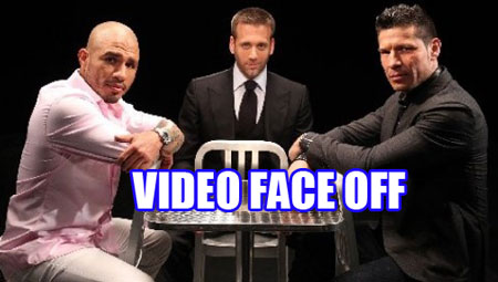 Photo of Video : Cotto vs Martinez Face Off
