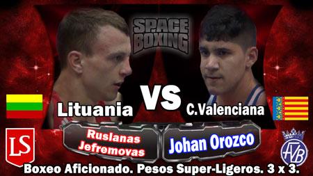 Photo of Video Johan Orozco vs Ruslanas Jefremovas