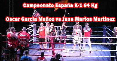 Photo of Video Cto España K-1 Oscar Garcia  vs Juan Martos