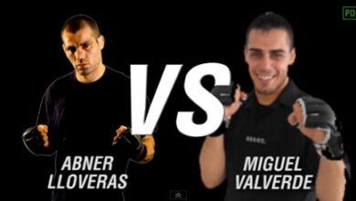Photo of Video  Abner Lloveras vs Miguel Valverde MMA