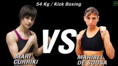 Photo of Video Maribel de Sousa vs. Mari Curriki Kick Boxing