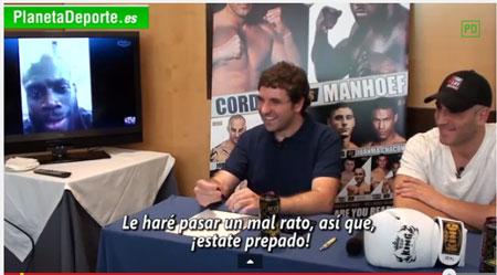 Photo of Entrevista a Melvin Manhoef y César Córdoba