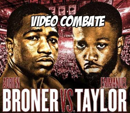 Photo of Adrien Broner vs Emmanuel Taylor – Pelea completa