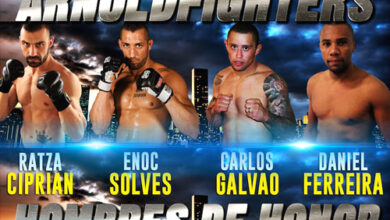 Photo of Arnold Fighters- Hombres de Honor 65 Torneo MMA