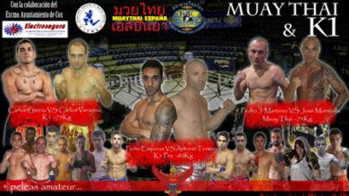 Photo of Resultados Muay Thai y K-1 en I Velada Villa de Cox