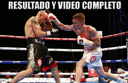 Photo of Resultados Kiko Martinez vs Carl Frampton II- Video
