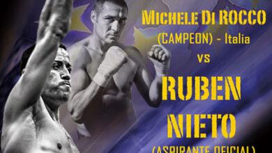 Photo of Cto de Europa Ruben Nieto vs Michelle Di Rocco 03/10/14