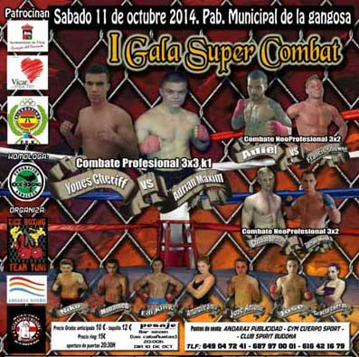 Photo of I Gala Super Combat de Vícar-Amería