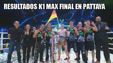 Photo of K-1 Max Final Pattaya resultados- Enriko Khel Campeón
