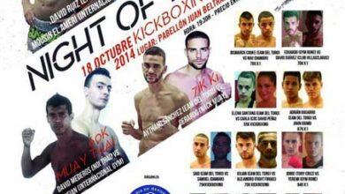 Photo of 'Night of the Brave' KickBoxing K-1 en Las Palmas 18 de Octubre