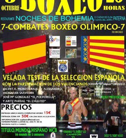 Photo of Velada Boxeo en Paterna 03/10/14