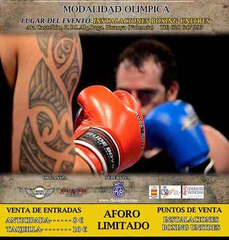 Photo of Velada Boxeo Olímpico en Picanya-Valencia 18/10/14