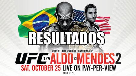 Photo of Resultados UFC 179:Aldo vs Mendes 2