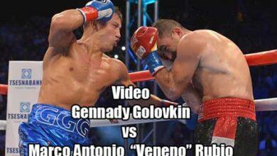 Photo of Video Gennady Golovkin vs Marco Antonio Rubio