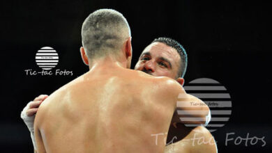 """Photo of César Córdoba: """"A Ibrahim le disgustó perder por Ko técnico porque es un guerrero"""""""