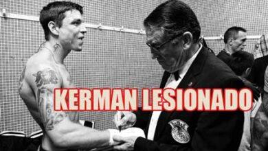 Photo of Kerman Lejarraga no peleará por una lesión en la mano