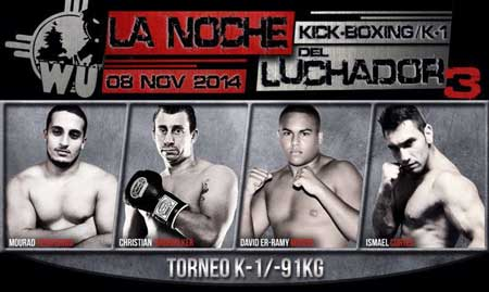 Photo of Kick Boxing & K-1 en La Noche del Luchador 3