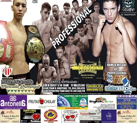 Photo of K1 y Boxeo Profesional 13 Diciembre  Elche
